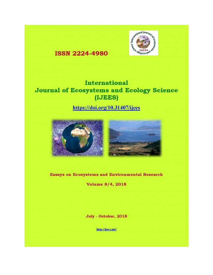 International Journal of Ecosystems and Ecology Science (IJEES